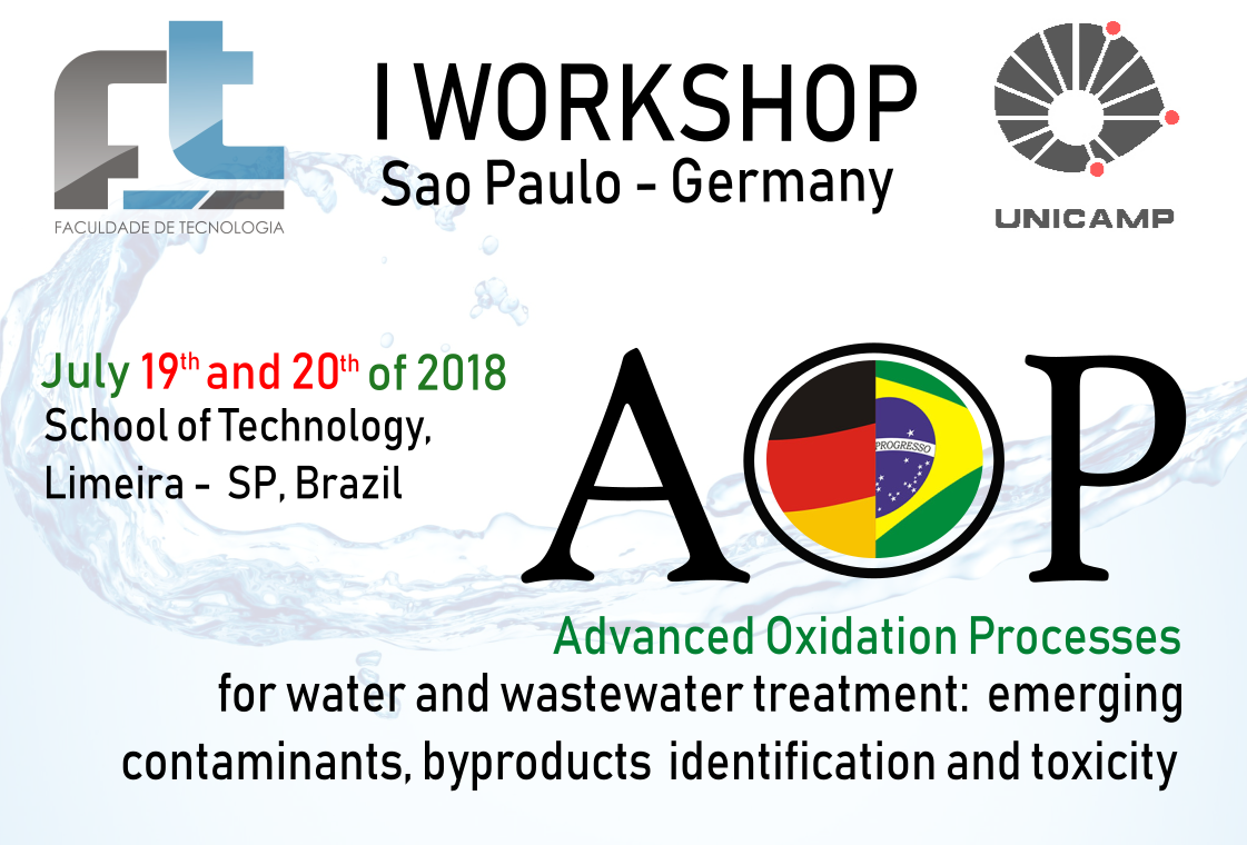 1st Workshop São Paulo-Germany of advanced oxidation processes